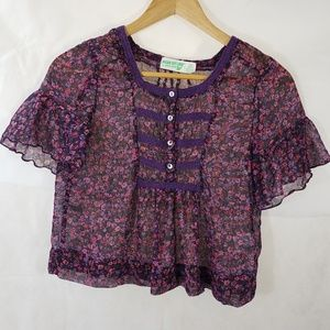 Dream Out Loud by Selena Gomez Sheer Blouse